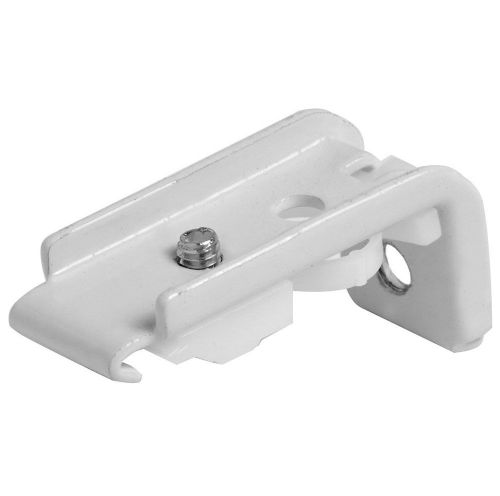 Speedy Fineline Top & Face Fix Curtain Track Brackets (Pack of 4) - White